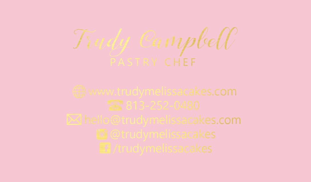 Pastry chef trudy business cards gold foil gold foil business pastry chef trudy business cards gold foil gold foil business cards shaynamade fancy business cards for successful entrepreneurs colourmoves