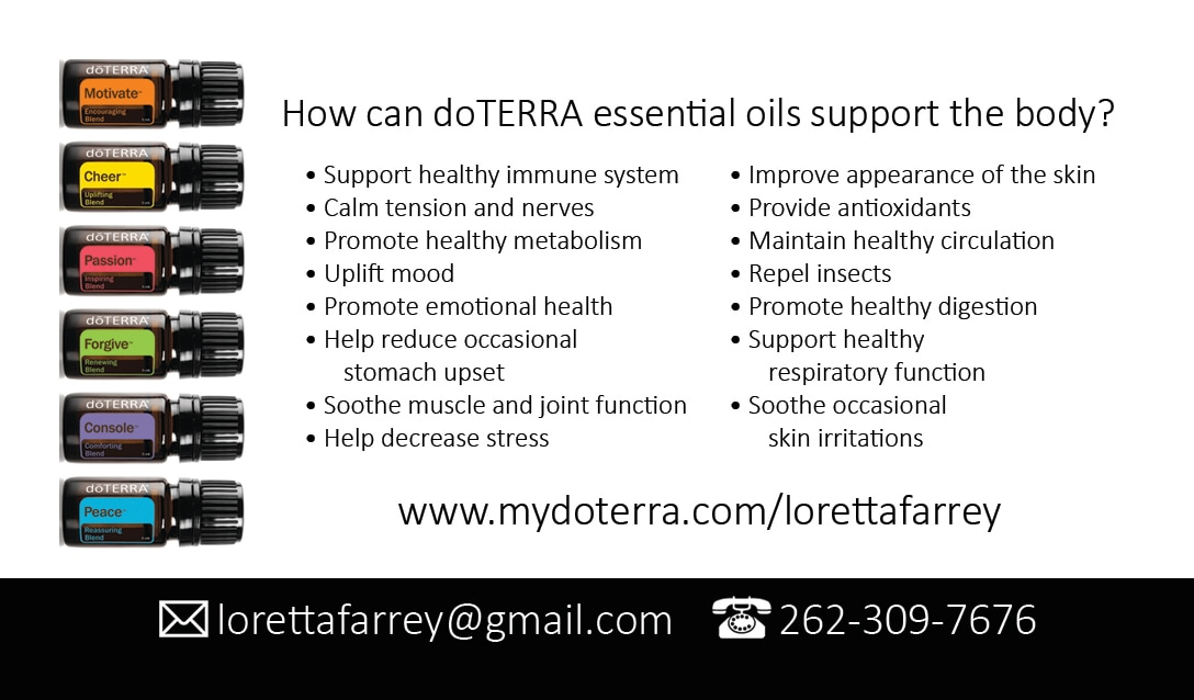 loretta-doterra-business-cards - Gold Foil Business Cards ...