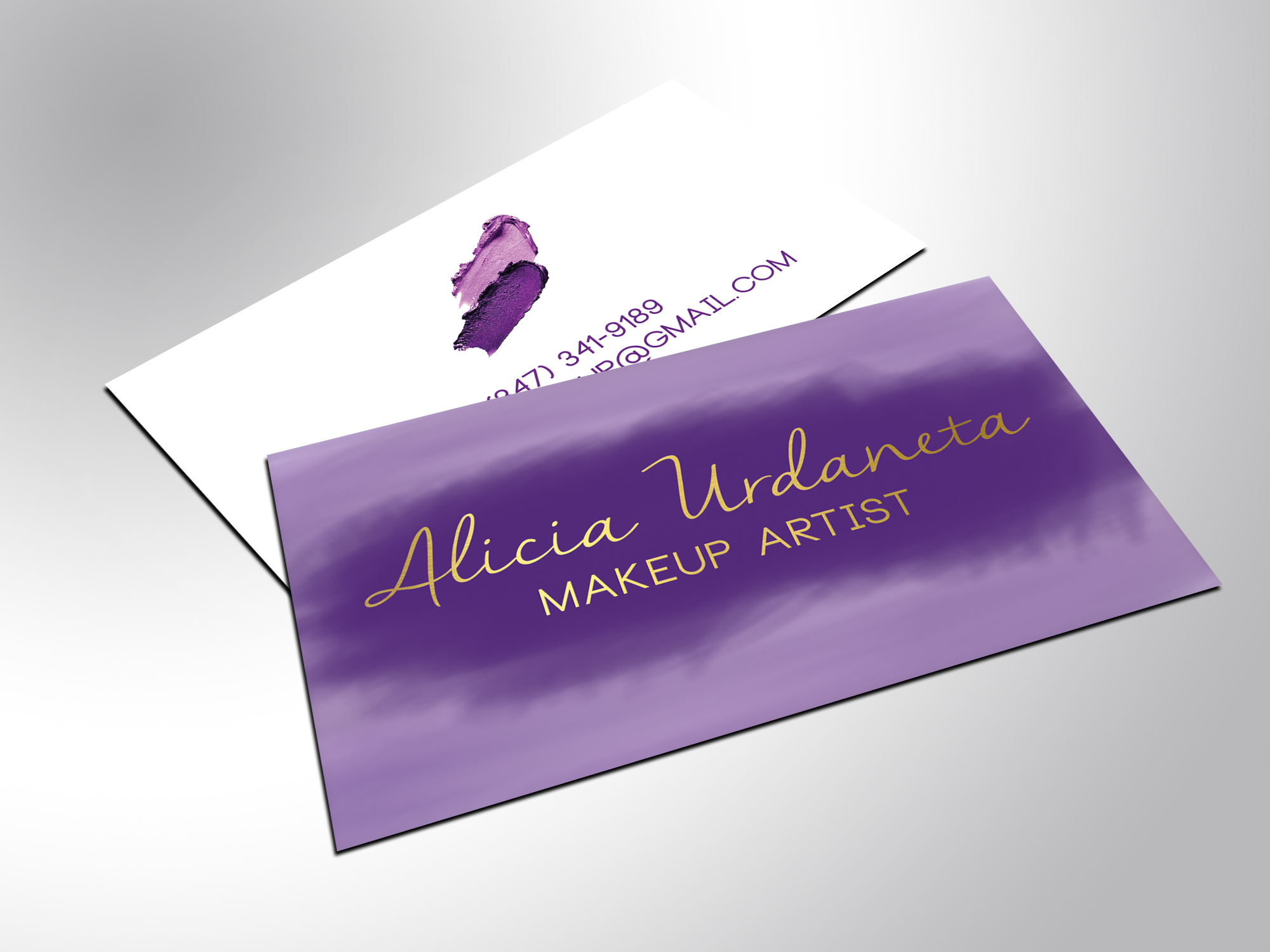 best of image of gold foil business cards business cards