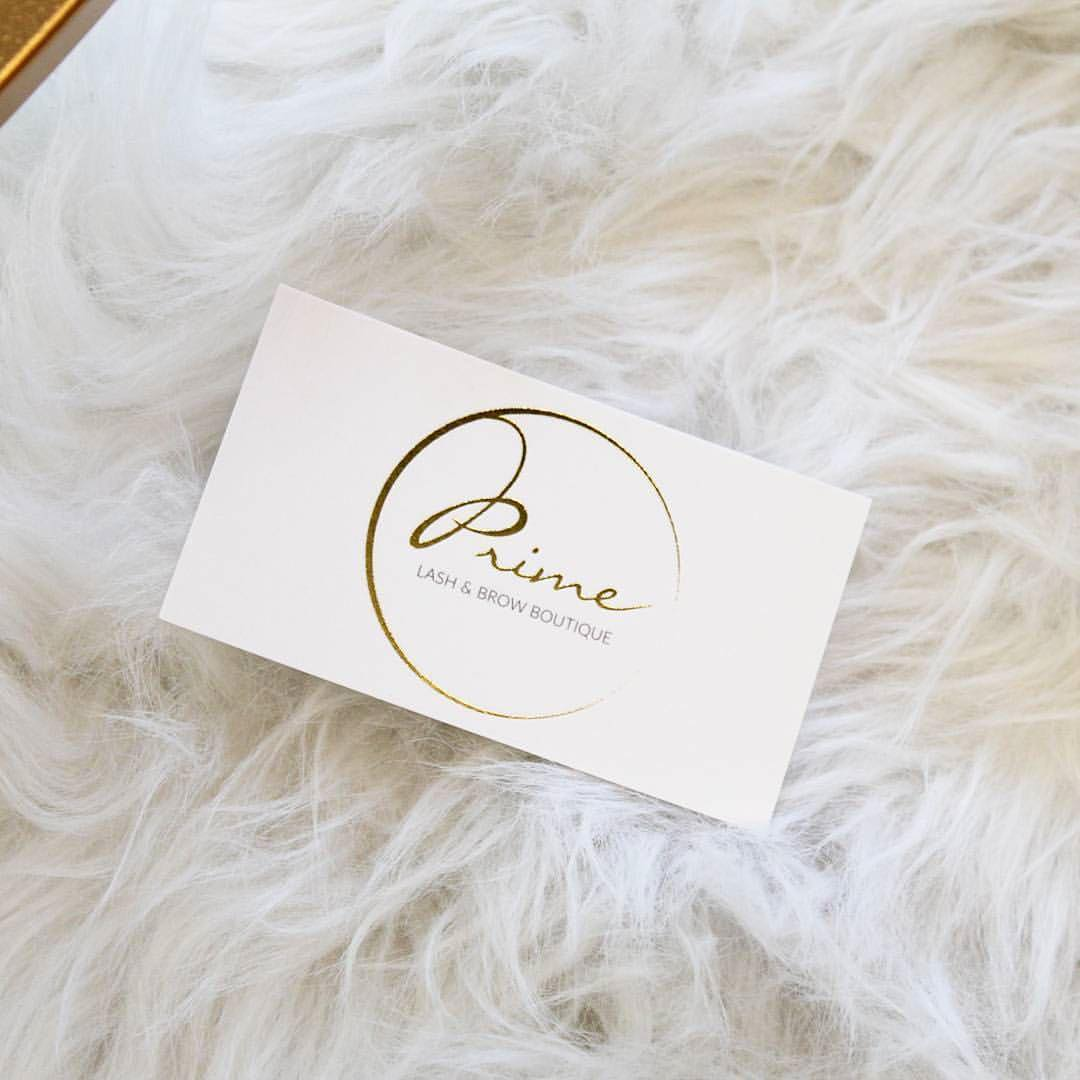 Brow lash artist gold foil business cards some more 5 star reviews that make me oh so happy reheart